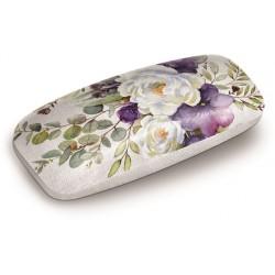 Etui à lunettes (flowers) 'Lilac & Sage'