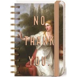 Pocket carnet de notes 'No thank you'