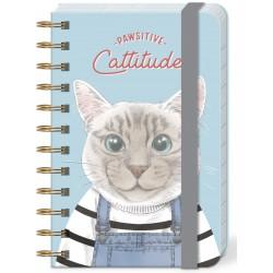 Pocket carnet de notes (Pawsitive Cattitude) 'Pets'