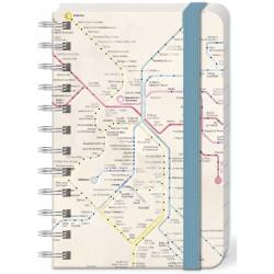 Pocket carnet de notes 'Metro Pap'