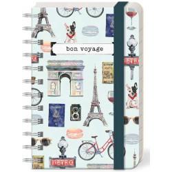 Pocket carnet de notes 'Bon Voyage'
