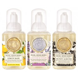 Set 3 savons moussants (140 ml) -Lavander/Lemon/Honey Almond