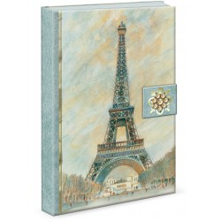 Carnet de notes Brooch 'Scenes of Paris'