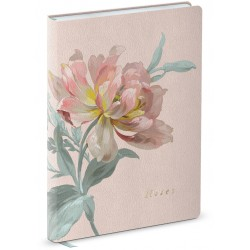 Carnet de notes Leather (Peony) 'Natural Classics'