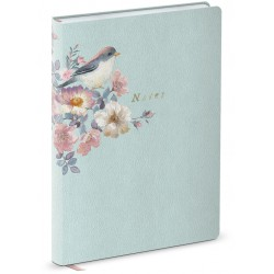 Carnet de notes Leather (Bird) 'Natural Classics'