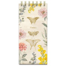 Bloc notes 'Botanical Butterfly'