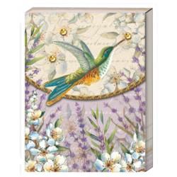 Pocket carnet de notes 'Mornings Hummingbirds'