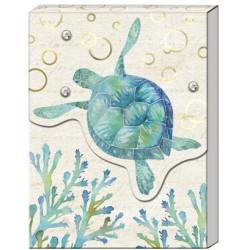 Pocket carnet de notes 'High Tide' (Turtle)