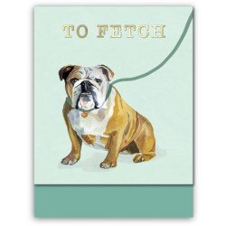 Pocket carnet de notes (dog to fetch) 'Classic Pets'
