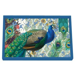 Plateau rectangulaire PM 'Peacock'