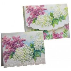 Pochette Correspondance 'Lilacs'