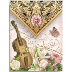Pocket Carnet Notes 'Violon Music'