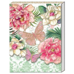 Pocket Carnet Notes 'Peony in Pink'