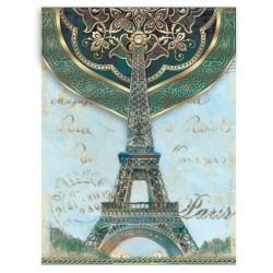 Pocket Carnet Notes 'Paris Navy'