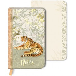 Carnet de notes PM Chinoiserie Garden 'Tiger Chinoiserie'