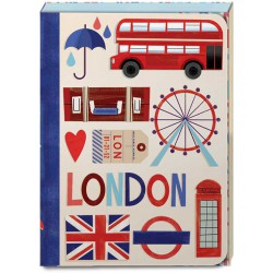 Pocket Carnet Notes 'London'