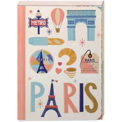 Pocket Carnet Notes 'Paris'