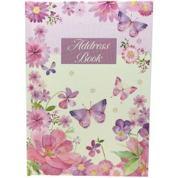 Carnet d'adresses MM 'Purple Butterfly'
