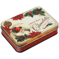Boîte Rectangulaire PM 'Nostalgia Noël'