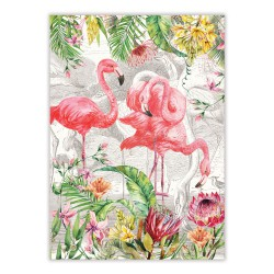 Torchon 'Flamingo'