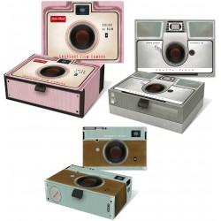 Set 3 boîtes cigares PM Yesteryear 'Vintage Camera'