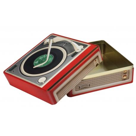 Boîte carrée GM Vintage 'Record Player'
