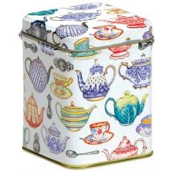 Boîte carrée Tea 'Tea Time'