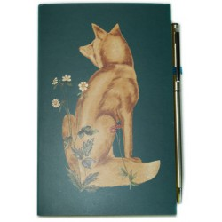 Carnet de notes & stylo 'William Morris'