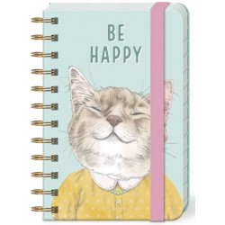 Pocket carnet de notes (Be Happy) 'Pets'