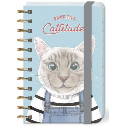 Pocket carnet de notes (Pawsitive Cattitude) 'Pets'