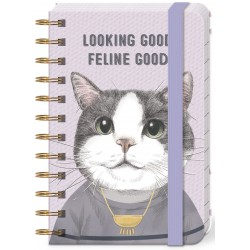 Pocket carnet de notes (Looking Good Feline Good) 'Pets'