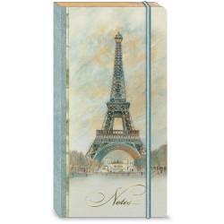 Carnet de notes long Bungee 'Scenes of Paris'