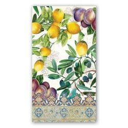 Serviettes en papier rectangulaires 'Tuscan Grove'