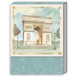 Pocket Carnet Notes (Arc de Triomphe) 'Scenes of Paris'