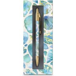 Coffret stylo bille (Blue Shells) 'High Tide'