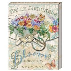 Pocket carnet de notes 'Belle Jardinière'