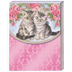 Pocket carnet de notes 'Cat Friends'
