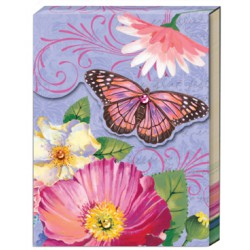 Pocket carnet de notes 'Tropical Butterfly'