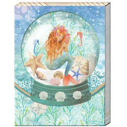 Pocket carnet de notes 'Mermaid'