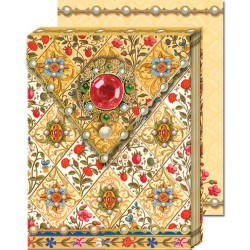 Pocket Carnet Notes 'Bijou Rouge'