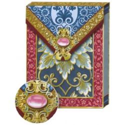 Pocket Carnet Notes 'Bijou Rose'