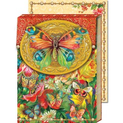 Pocket Carnet Notes 'Papillon'