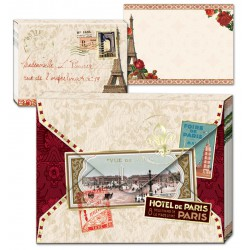 Pocket Carnet Notes Love Letters 'Paris'