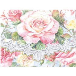 Pochette Correspondance 'Roses in Bloom'