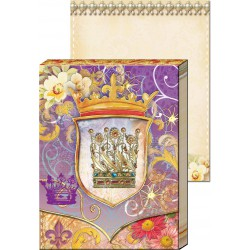 Pocket Carnet Notes Window 'Couronne'