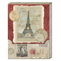 Pocket Carnet Notes 'Paris Newspaper'