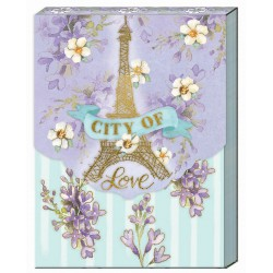 Pocket Carnet Notes 'City of Love'